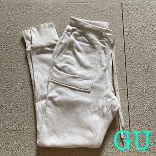 ジーユー(GU)のGUデニムスウェットイージーパンツ S(その他)