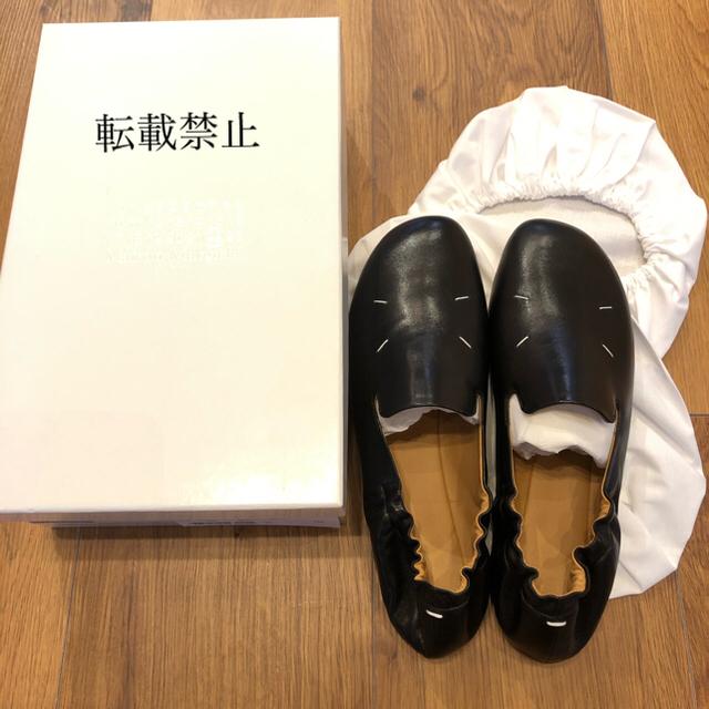 Maison Martin Margiela(マルタンマルジェラ)のメゾンマルジェラ 4ステッチ バレエシューズ kiki レザー 38 tabi レディースの靴/シューズ(バレエシューズ)の商品写真
