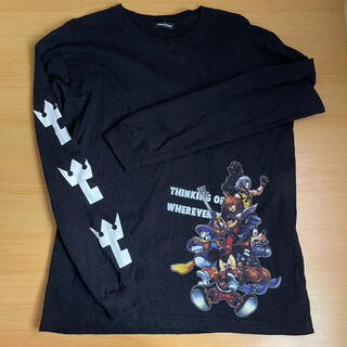 ディズニー(Disney)のKINGDOM HEARTS ロンT 黒 パニカムトーキョー(Tシャツ(長袖/七分))