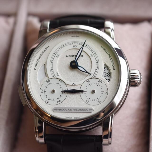 MONTBLANC(モンブラン)のmontblanc モンブラン 腕時計 オマージュトゥニコラ・リューセック 限定 メンズの時計(腕時計(アナログ))の商品写真