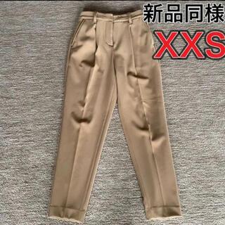 PLST - 新品同様 完売 プラステ ポリエステル 2way パンツ XXS キャメル