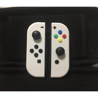 Nintendo Switch - Nintendo Switch ニンテンドースイッチ ジョイコン カスタム 白