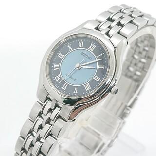 SEIKO - セイコー レディース 腕時計 エクセリーヌ シェル シルバー