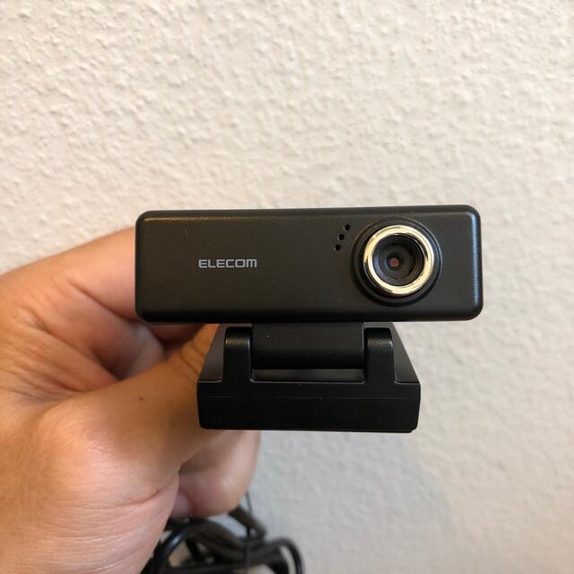 ELECOM(エレコム)のELECOM ウェブカメラ 200万画素 UCAM-C520FBBK スマホ/家電/カメラのPC/タブレット(PC周辺機器)の商品写真