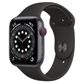 アップル(Apple)の未開封 Apple Watch Series 6 44mm(GPS +セルラー)(腕時計(デジタル))
