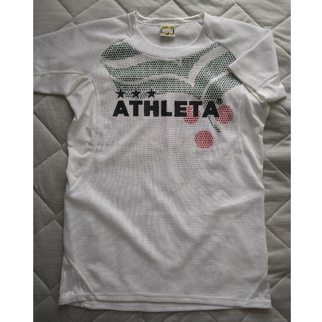 ATHLETA(アスレタ)のATHLETA 半袖シャツ 160 スポーツ/アウトドアのサッカー/フットサル(ウェア)の商品写真