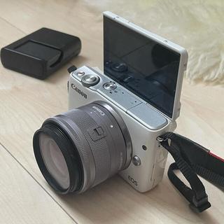 Canon - 【早い者勝ち!】Canon EOS m10(一式セット)ホワイト