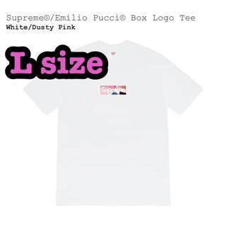 Supreme - Supreme Emilio Pucci® Box Logo Tee L