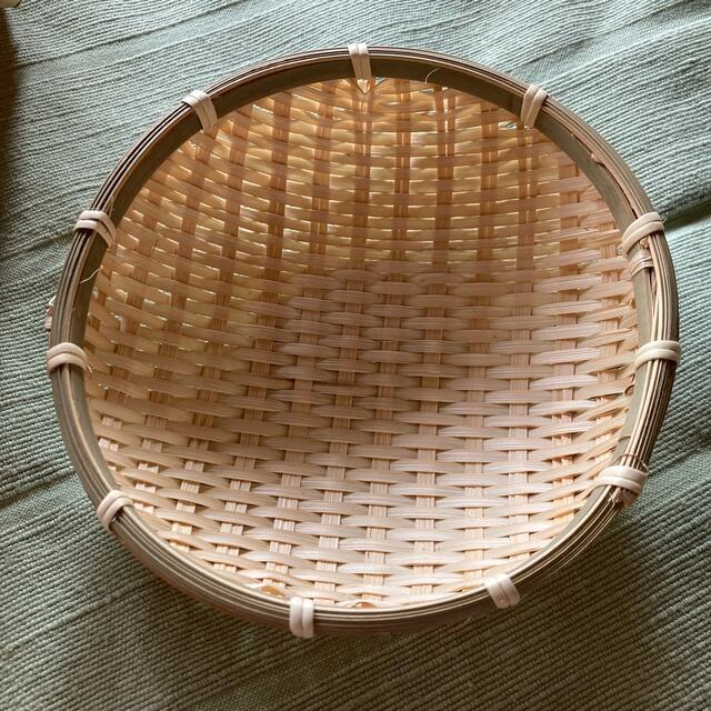 竹カゴ、バスケット丸型 10個セット インテリア/住まい/日用品のインテリア小物(バスケット/かご)の商品写真