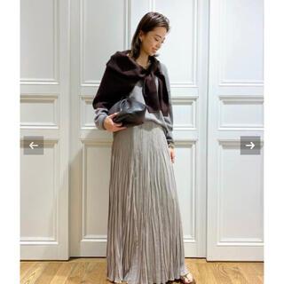 ドゥーズィエムクラス(DEUXIEME CLASSE)のMUSE de Deuxieme Classe  コル ピエロ プリーツスカート(ロングスカート)
