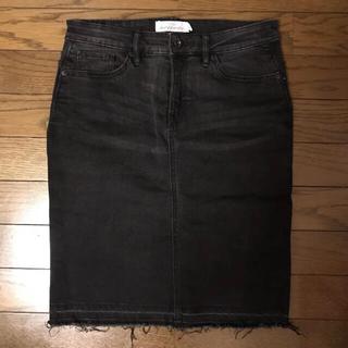 エイチアンドエム(H&M)の☆H&M デニムスカート☆(ひざ丈スカート)