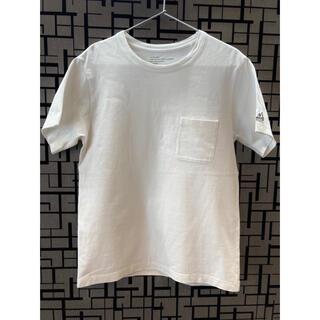 スノーピーク(Snow Peak)の*スノーピーク×relume* カットソー 白 Mサイズ(Tシャツ/カットソー(半袖/袖なし))
