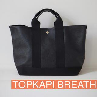 TOPKAPI - TOPKAPI BREATH スコッチグレインネオレザートートバッグ