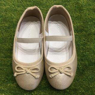 ブランシェス(Branshes)の靴 16㎝ Branshes ブランシェス GOLD (フォーマルシューズ)