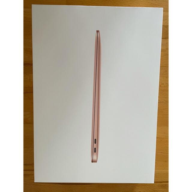 Apple(アップル)のMacBook Air 2020 M1 16GB 1T USキー ゴールド スマホ/家電/カメラのPC/タブレット(ノートPC)の商品写真