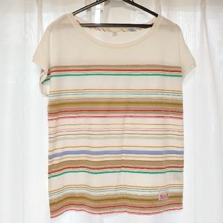UNIQLO - UNIQLO フレンチスリーブTシャツ Lサイズ