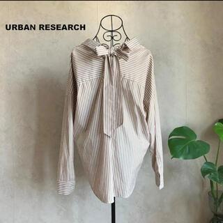 URBAN RESEARCH - 【美品】アーバンリサーチ BACKリボン2WAYスキッパーシャツ