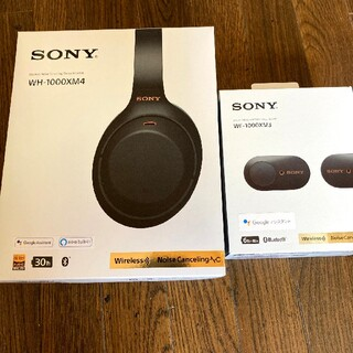 SONY - SONY wh-1000xm4 & wf-1000xm3 セット