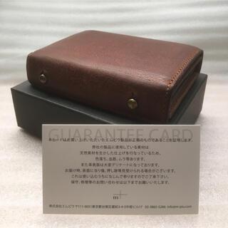 エムピウ(m+)の◎美品【エムピウ】ミッレフォッリエ P25 クアドレッティ 財布(折り財布)