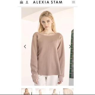 アリシアスタン(ALEXIA STAM)のアリシアスタン ロンT  新品未使用(Tシャツ(長袖/七分))
