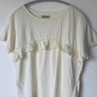 サマンサモスモス(SM2)のSM2 レース付きTシャツ(Tシャツ(半袖/袖なし))