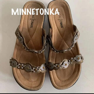 ミネトンカ(Minnetonka)のMINNETONKA ミネトンカ コンチョ サンダル サイズ 8(サンダル)