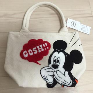 シマムラ(しまむら)のミッキー♡サガラ刺繍トートバッグ(トートバッグ)