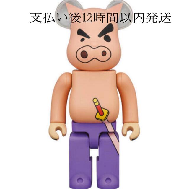 MEDICOM TOY(メディコムトイ)のBE@RBRICK ブリブリざえもん 400% ハンドメイドのおもちゃ(フィギュア)の商品写真