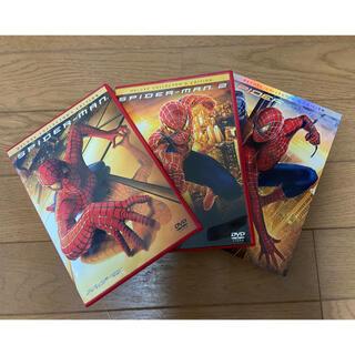 マーベル(MARVEL)のスパイダーマン1.2.3DVD(外国映画)