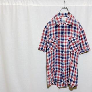 VISVIM - 【極美品】visvim ヴィスヴィム 半袖 チェックシャツ メンズ 1