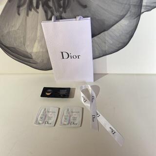 クリスチャンディオール(Christian Dior)のDior ファンデーション 薬用美容液 ショップ袋 リボン(サンプル/トライアルキット)