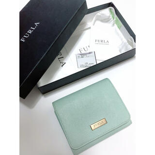 Furla - FURLA  三つ折り財布 ライトグリーン