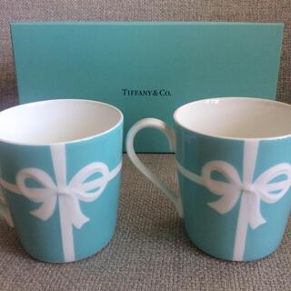 Tiffany & Co. - TIFFANY&Co. ブルーリボン ペアマグカップ