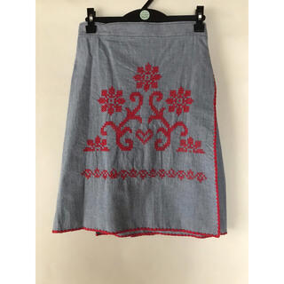 fig London - フィグロンドン 刺繍スカート