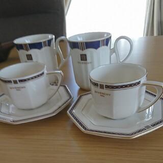 ジバンシィ(GIVENCHY)の最安値‼️GIVENCHY 特別セット‼️カップソーサ2客&マグカップ2客‼️(グラス/カップ)