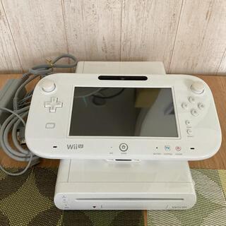 ウィーユー(Wii U)のNintendo Wii U WII U 本体 ホワイト 8G(家庭用ゲーム機本体)