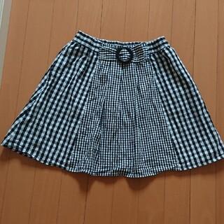 アーヴェヴェ(a.v.v)のチェックのスカート(スカート)