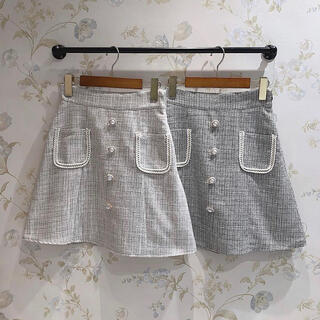 evelyn - 【AnMILLE】サマーツィード台形SK スカート