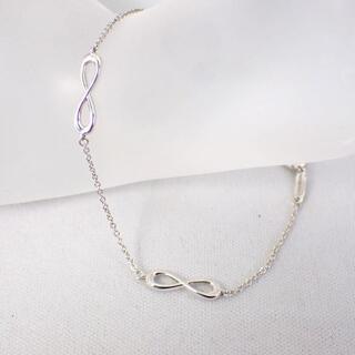 ティファニー(Tiffany & Co.)のティファニー SV925 インフィニティ ブレスレット[g474-10](ブレスレット/バングル)