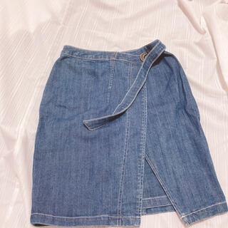 アールディールージュディアマン(RD Rouge Diamant)のルージュディアマン♡デニムスカート(ひざ丈スカート)