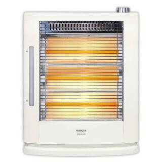 ヤマゼン(山善)のYAMAZEN 電気ストーブ 加湿機能付き 新品未使用(電気ヒーター)