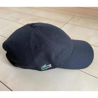 LACOSTE - ラコステ スポーツキャップ ブラック(美品)