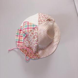 ファミリア(familiar)のベビー 日焼け uvカット 帽子 赤ちゃんの城(帽子)