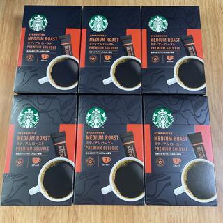 Starbucks Coffee - スターバックス プレミアム ソリュブル ミディアム ロースト 6箱分 42本