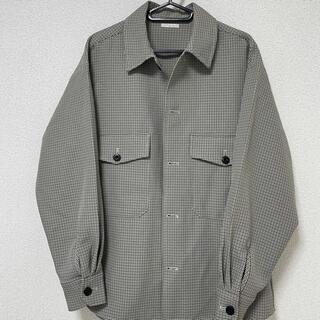 ジーユー(GU)のGU CPOシャツ(チェック)(シャツ)