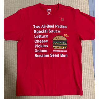 マクドナルド(マクドナルド)のマクドナルド×ユニクロ コラボTシャツ(Tシャツ/カットソー(半袖/袖なし))