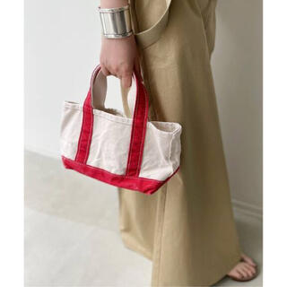 L'Appartement DEUXIEME CLASSE - アパルトモン【L.L.Bean】Canvas Mini Tote Bag