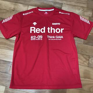 デサント(DESCENTE)のDESCENTE 赤シャツO(Tシャツ/カットソー(半袖/袖なし))