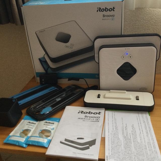 iRobot(アイロボット)のブラーバ390j中古ジャンク スマホ/家電/カメラの生活家電(掃除機)の商品写真