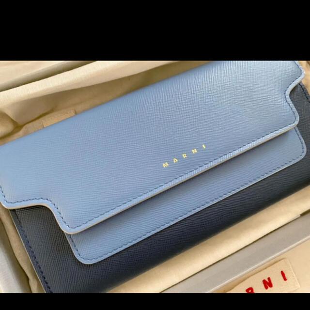 Marni(マルニ)の希少 Marni マルニ 財布 バッグ コインケース 長財布 サフィアーノ レディースのファッション小物(財布)の商品写真